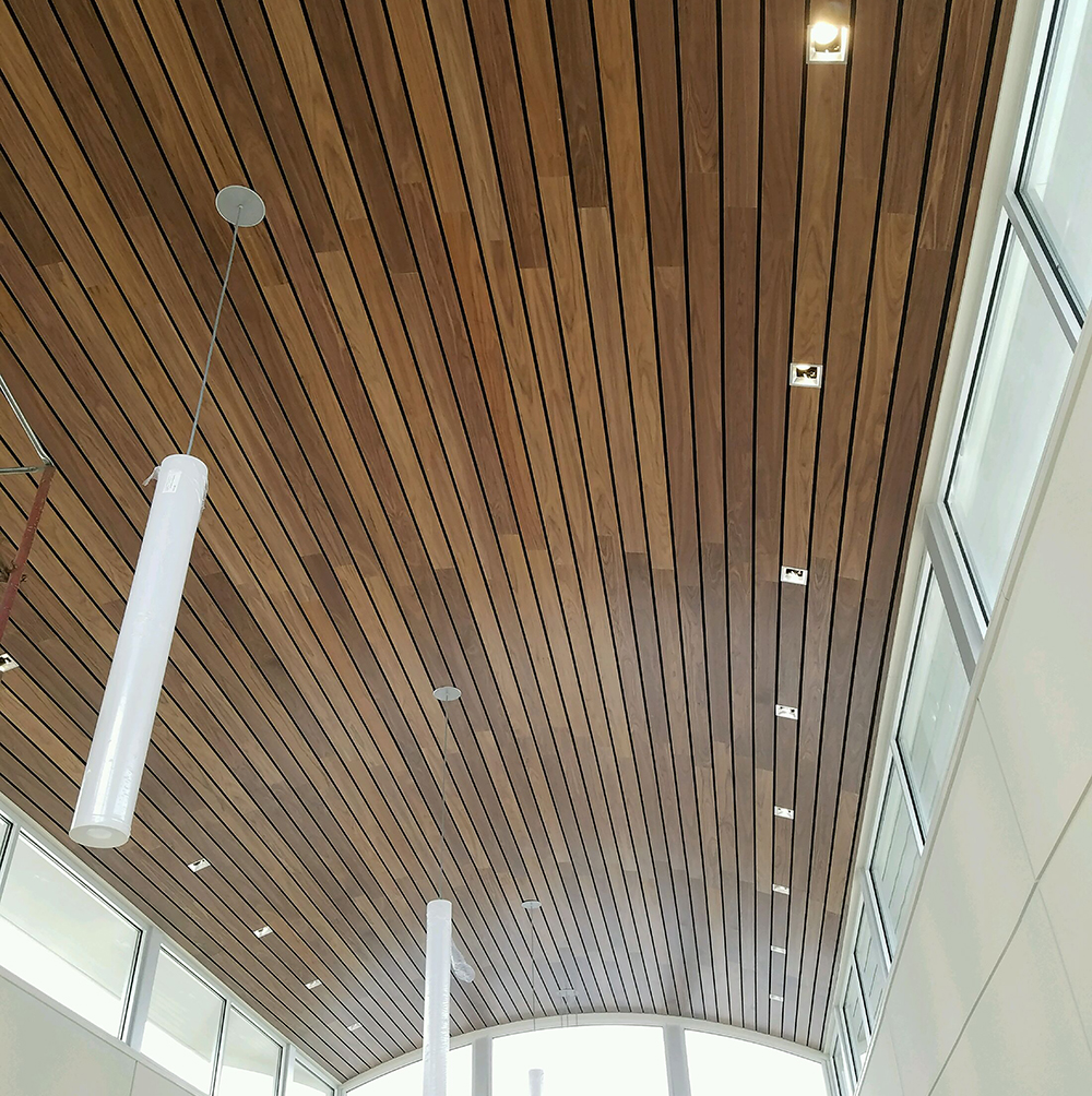 Linear Planks For Ceilings And Walls Asi Architectural