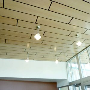light ceiling tiles