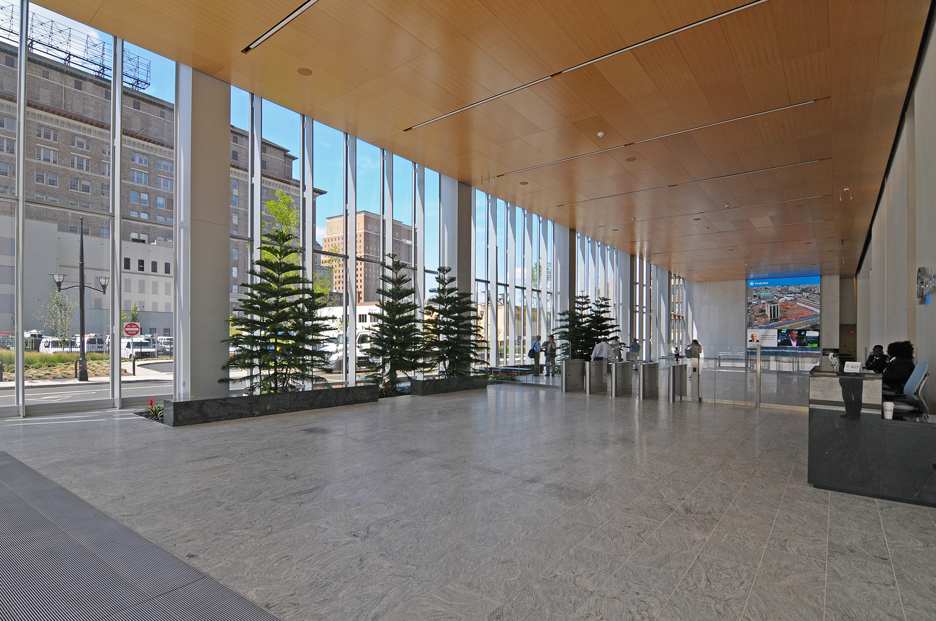 Prudential tower Lobby