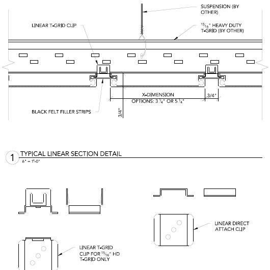 linear alumiline