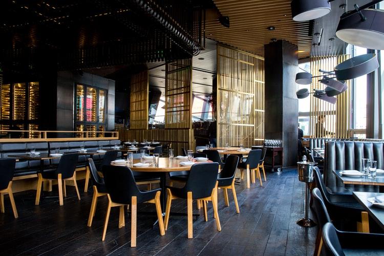 acoustic ceilings in restaurant