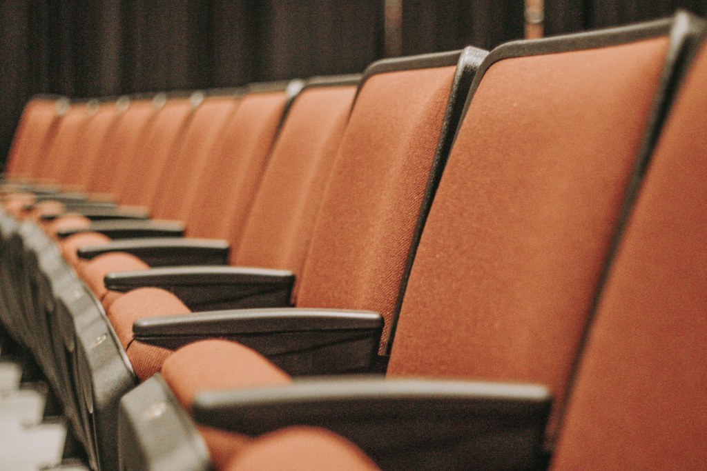 conference hall seating