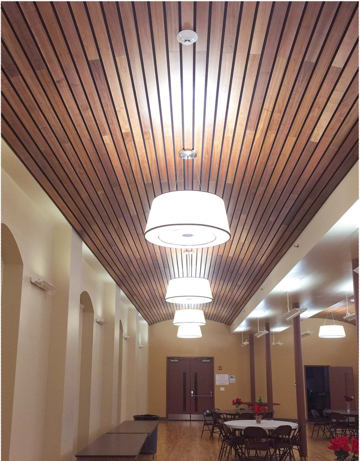 Linear Ceiling Solutions by ASI Architectural.